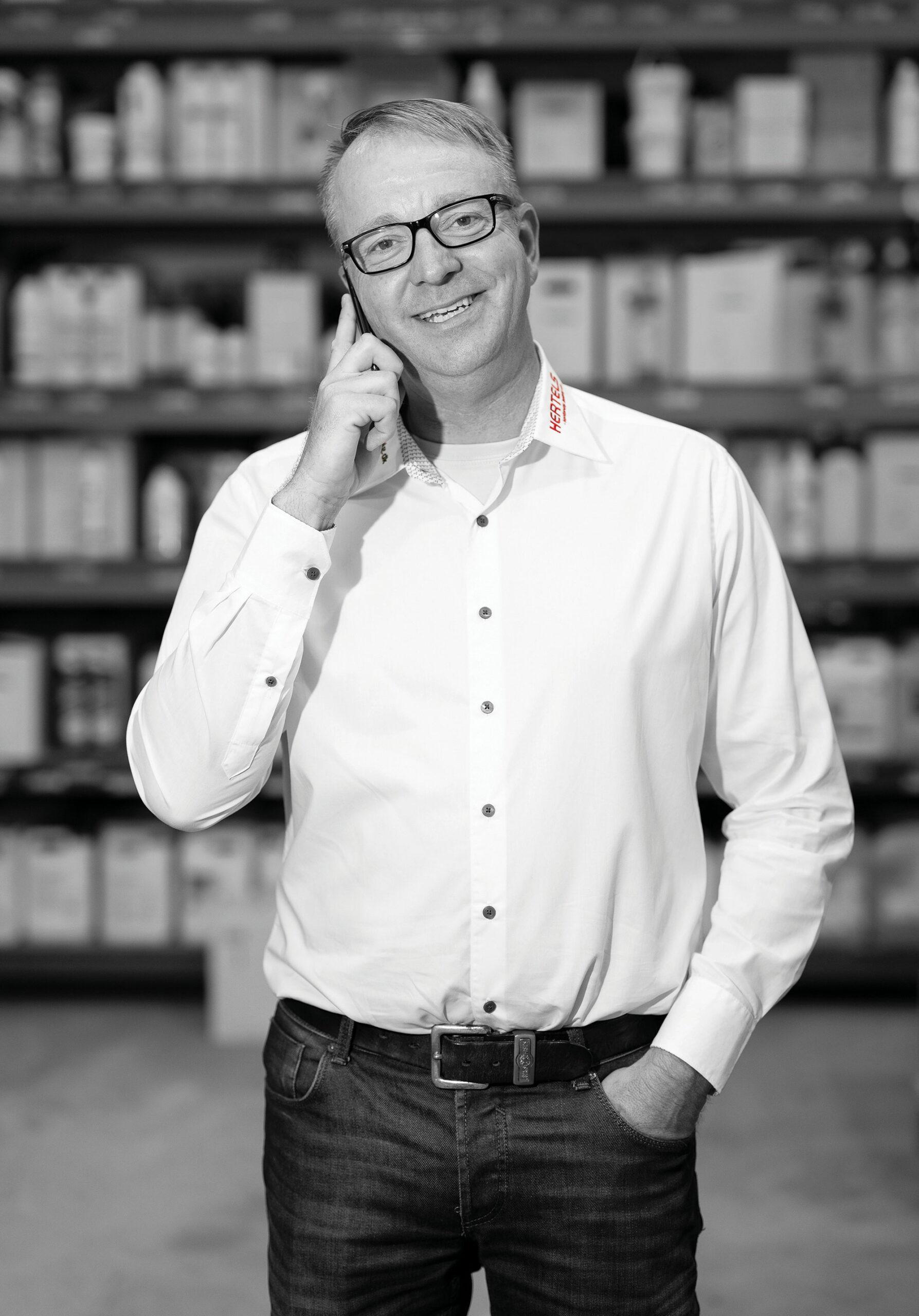 Distriktschef Lars Bo Andersen - Hertels A/S